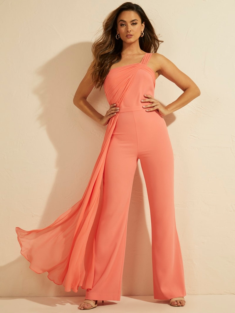 MARCIANO DRAPED JUMPSUIT image number 2