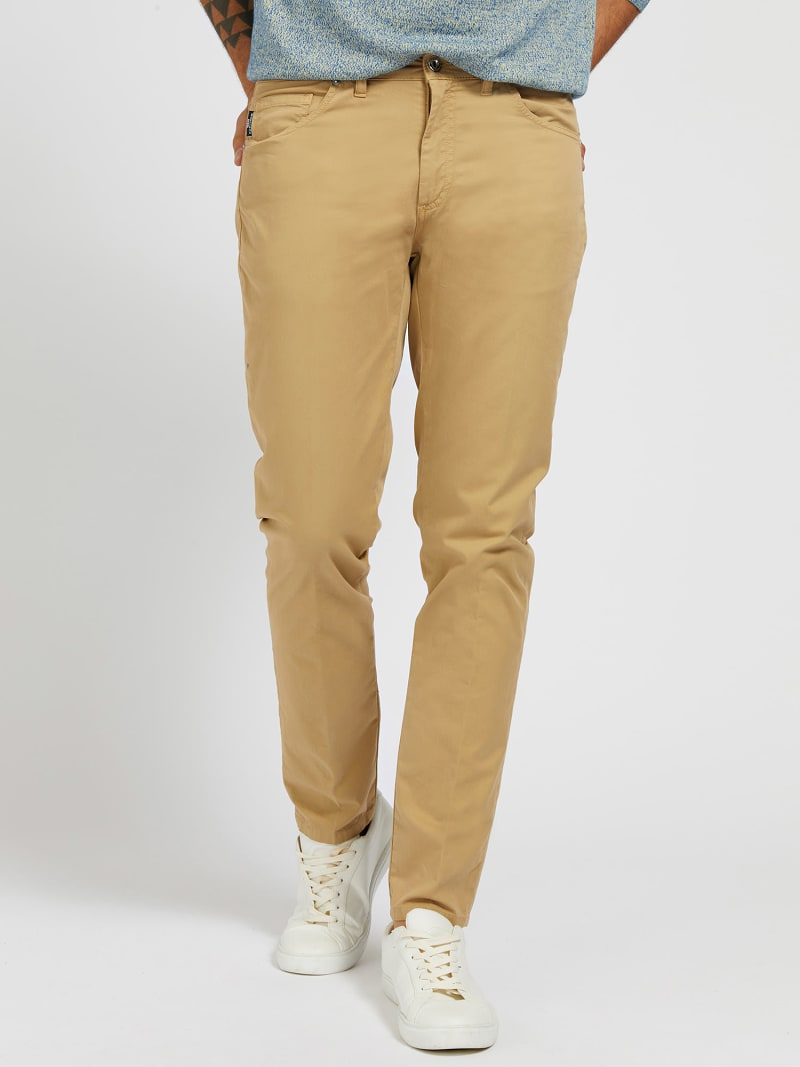 MARCIANO GARMENT-DYED PANT image number 0