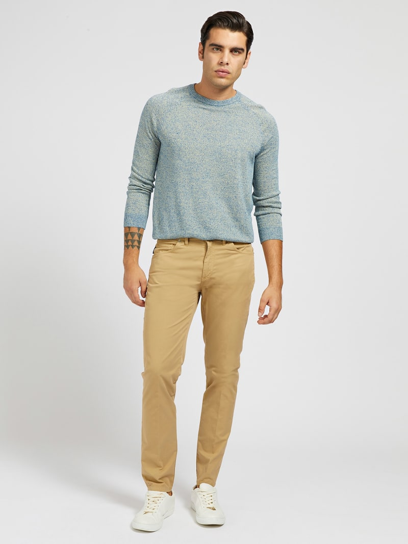 MARCIANO GARMENT-DYED PANT image number 1