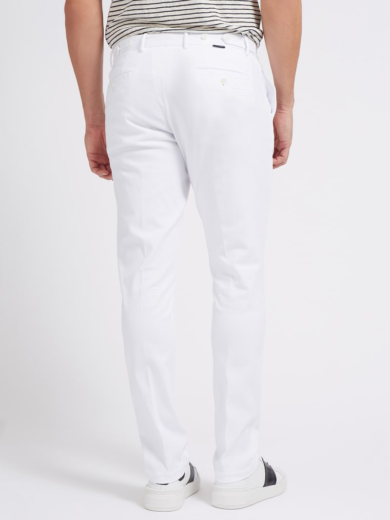 PANTALONE TINTO IN CAPO MARCIANO  image number 2