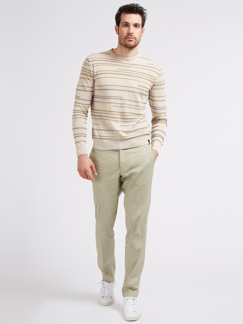 MARCIANO LINEN PANT image number 1