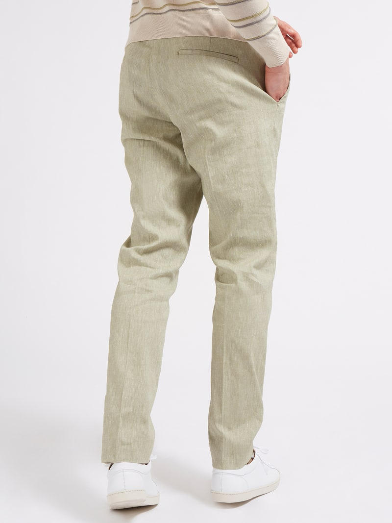 MARCIANO LINEN PANT image number 2