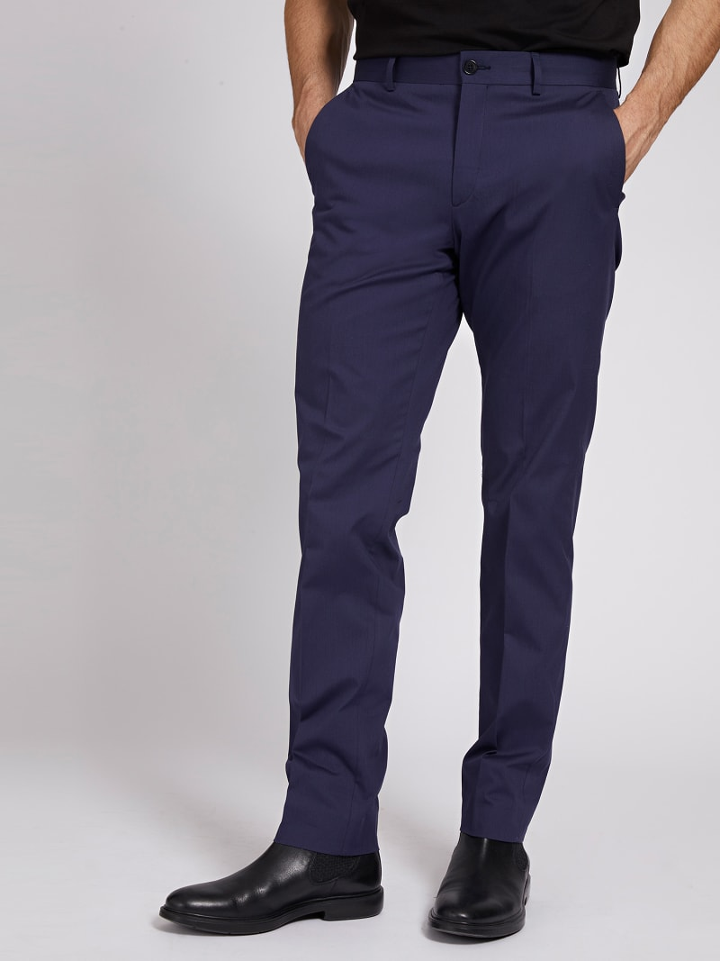 MARCIANO YARN-DYED PANT image number 0