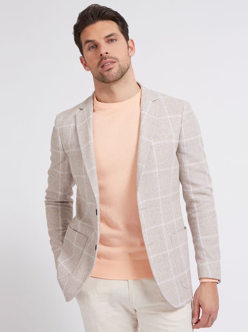 MARCIANO PRINTED BLAZER image number 0