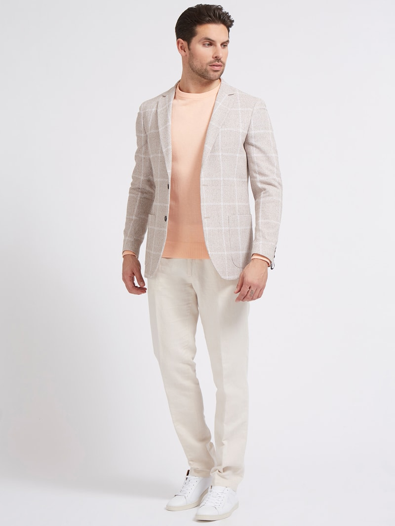 MARCIANO PRINTED BLAZER image number 1