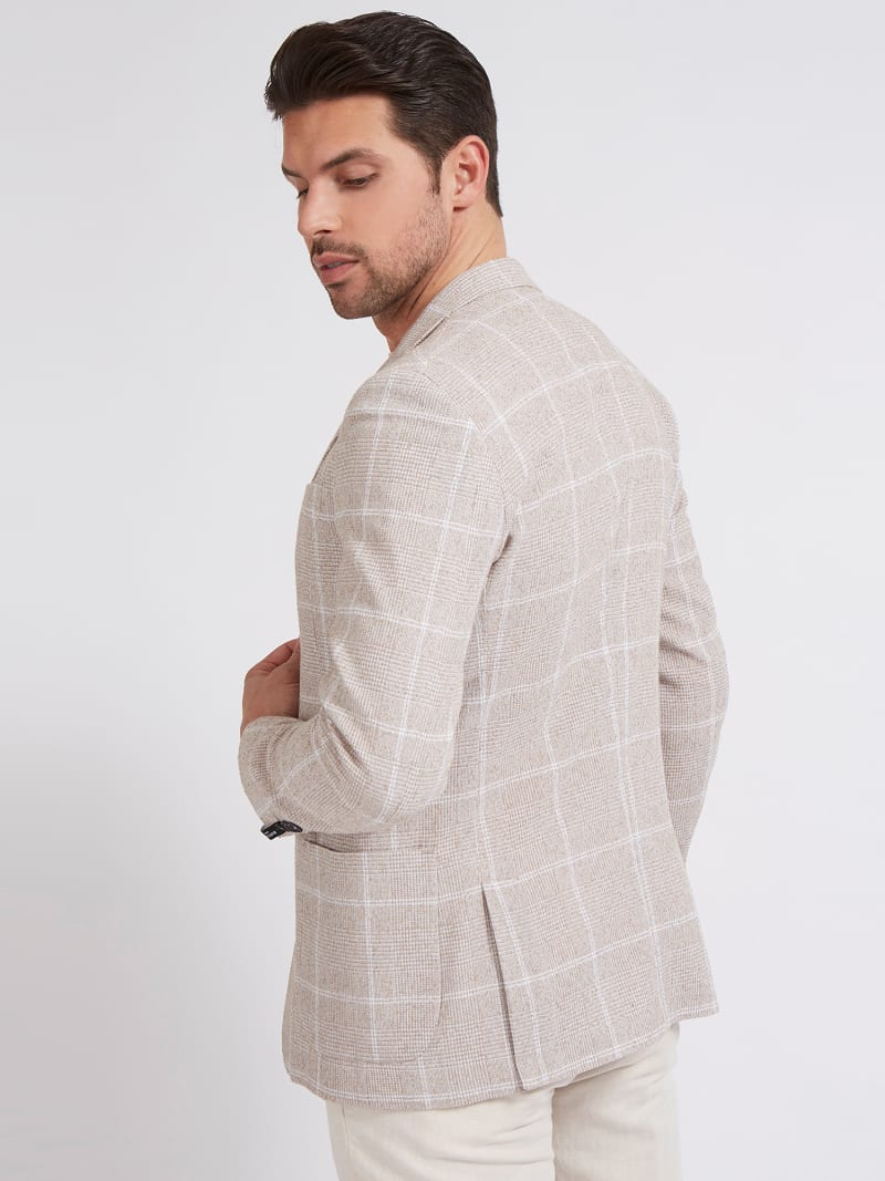 MARCIANO PRINTED BLAZER image number 2