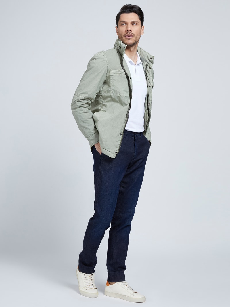 MARCIANO GARMENT-DYED JACKET  image number 1