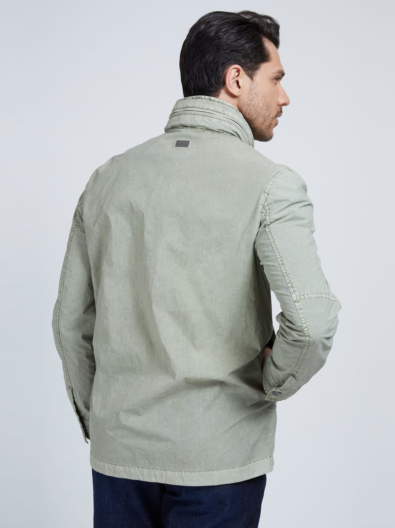 MARCIANO GARMENT-DYED JACKET  image number 2
