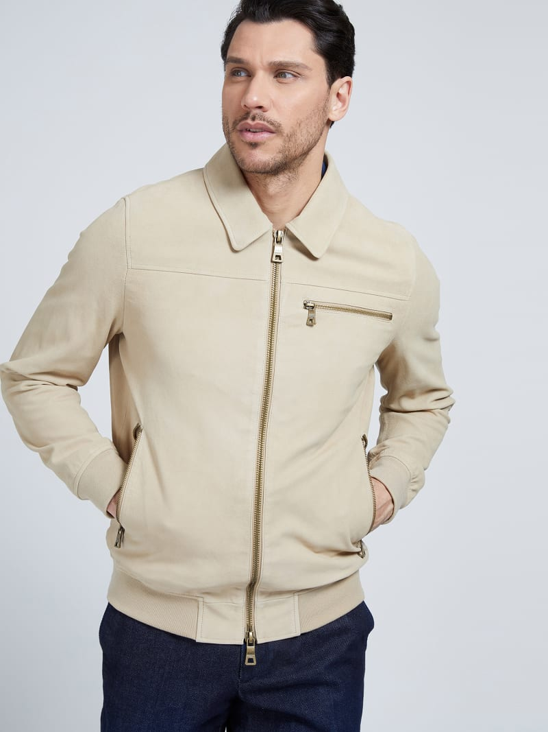 MARCIANO LEATHER JACKET image number 0