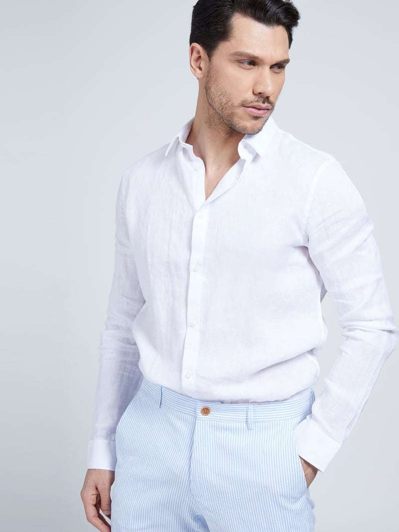 MARCIANO LINEN SHIRT image number 0
