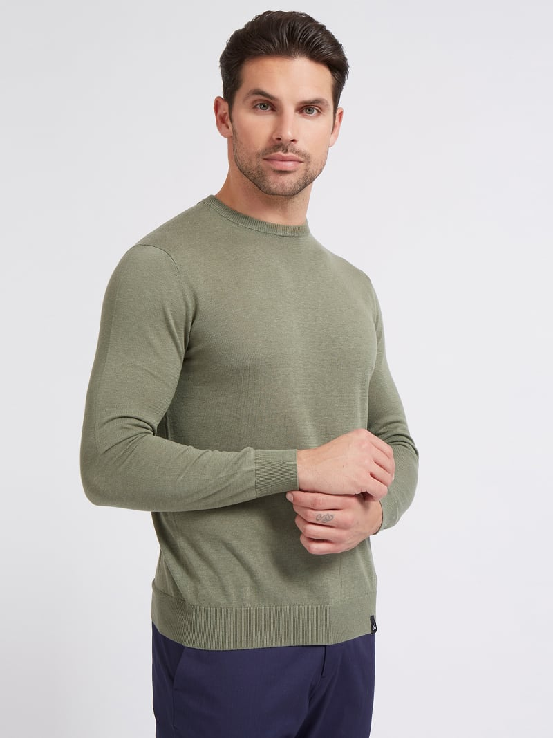 MARCIANO ROUND-NECK SWEATER image number 0