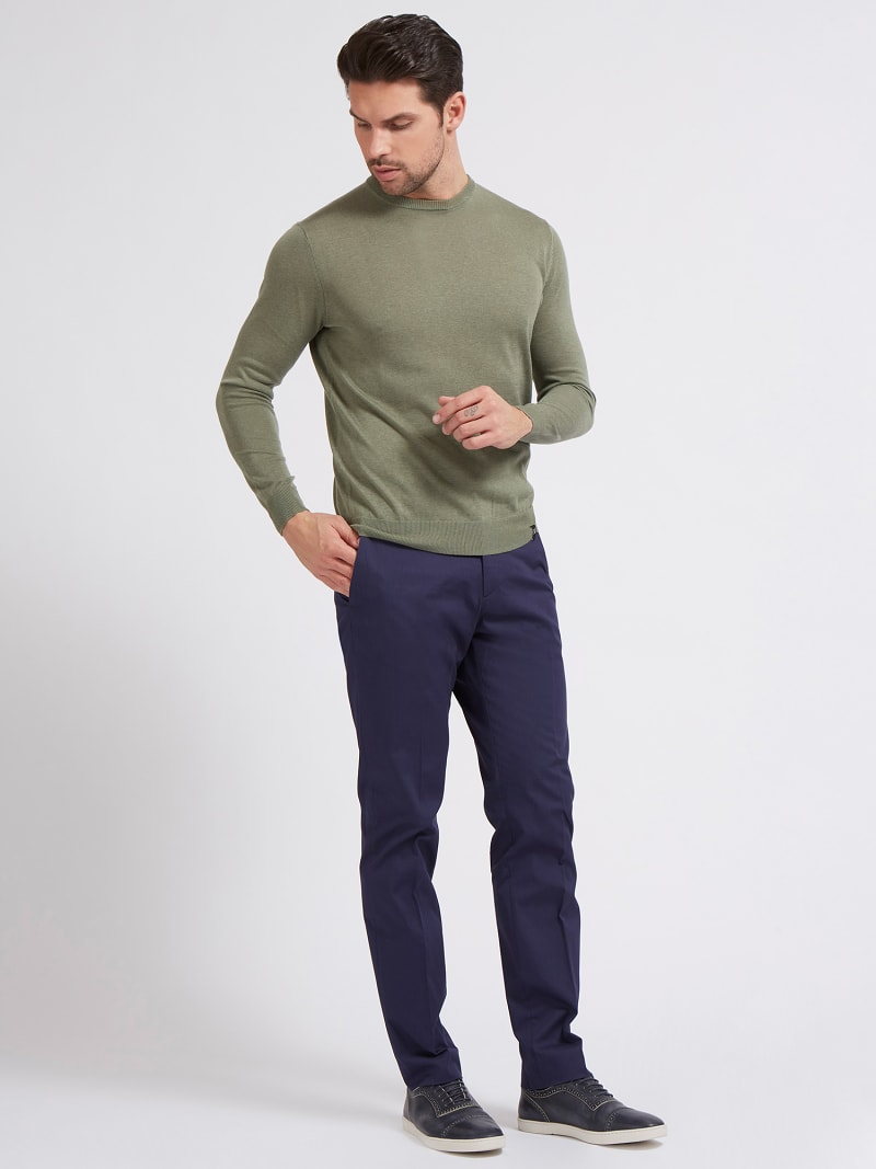 MARCIANO ROUND-NECK SWEATER image number 1