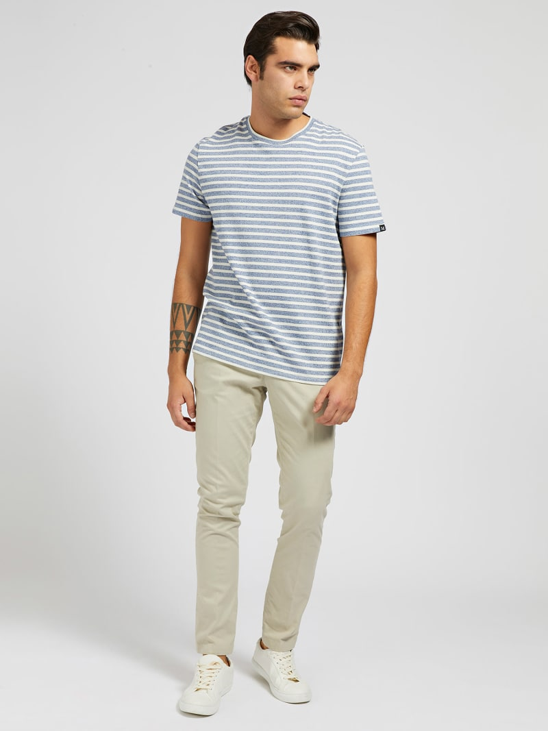 MARCIANO YARN-DYED T-SHIRT image number 1
