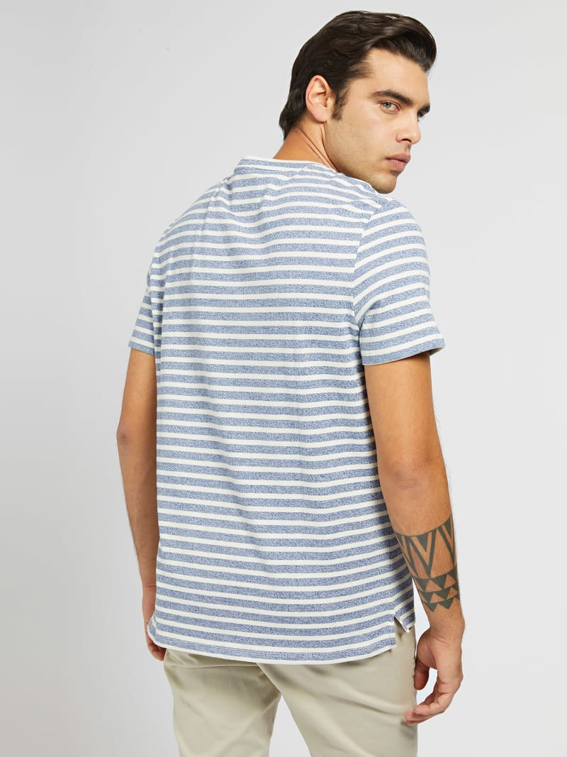 MARCIANO YARN-DYED T-SHIRT image number 2