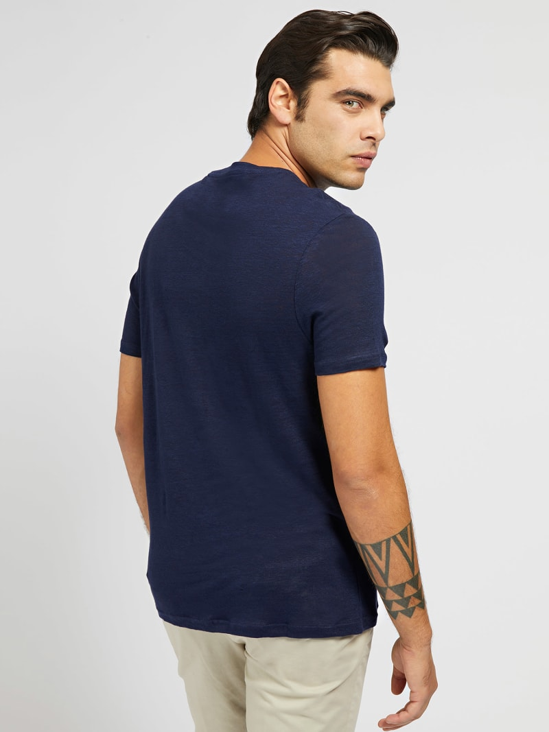 MARCIANO LINEN T-SHIRT image number 2
