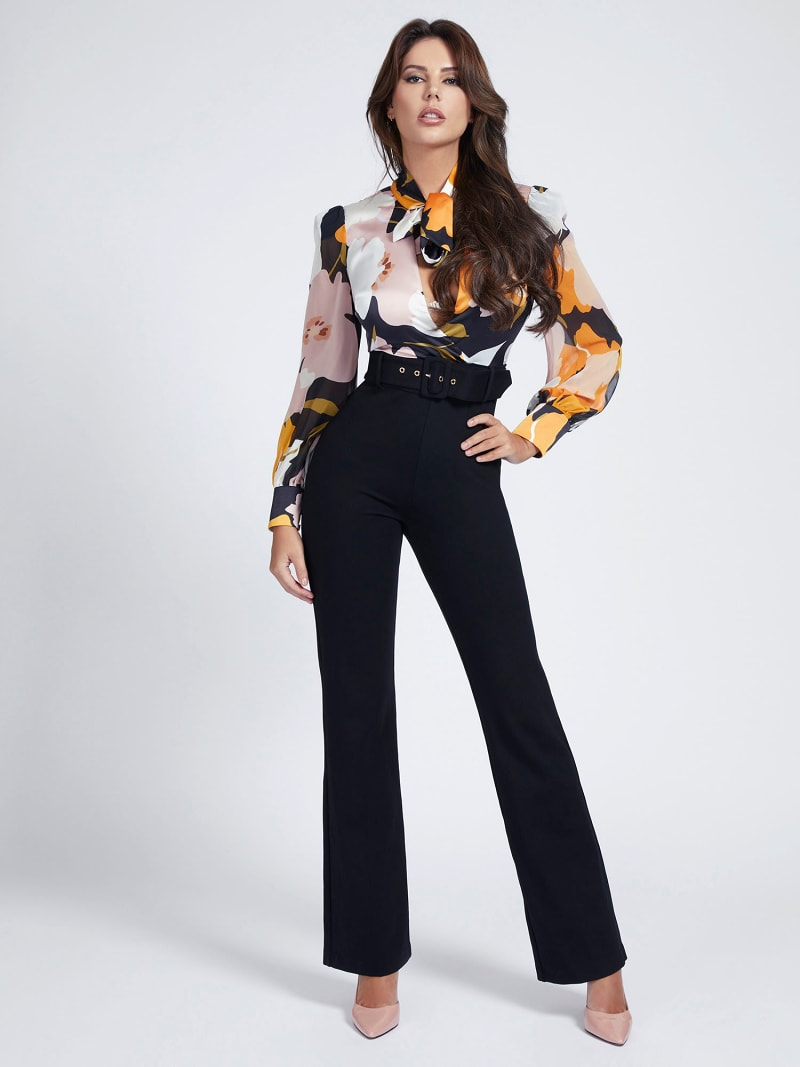 MARCIANO FLORAL JUMPSUIT image number 0
