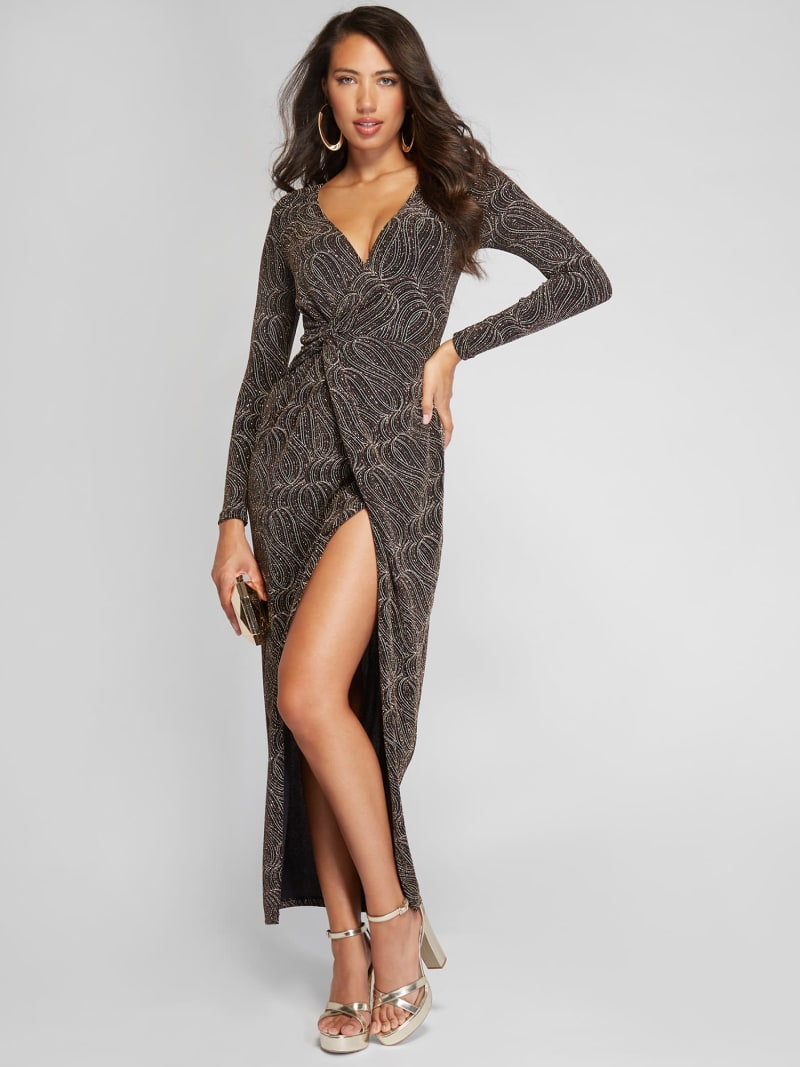ROBE LONGUE MAILLE MARCIANO image number 0