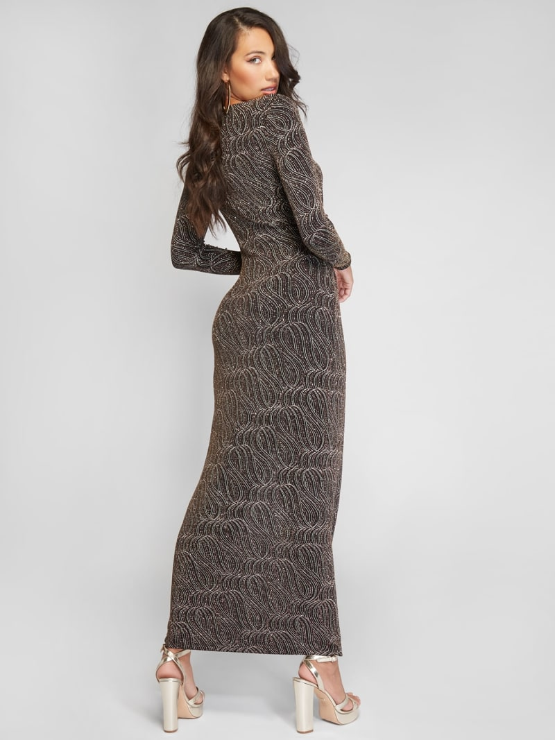 ROBE LONGUE MAILLE MARCIANO image number 2
