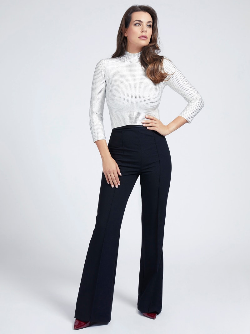 MARCIANO HIGH-NECK SWEATER image number 1