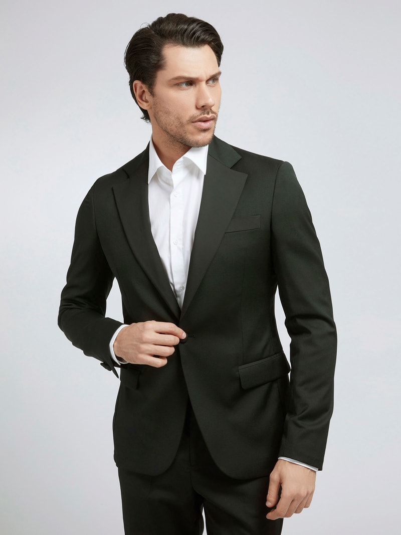 MARCIANO WOOL BLEND BLAZER image number 0