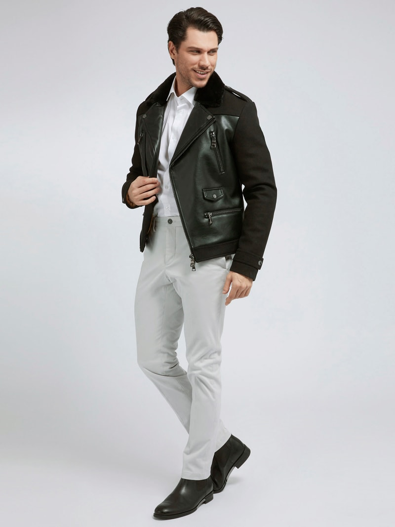 MARCIANO COATED-LOOK JACKET image number 1