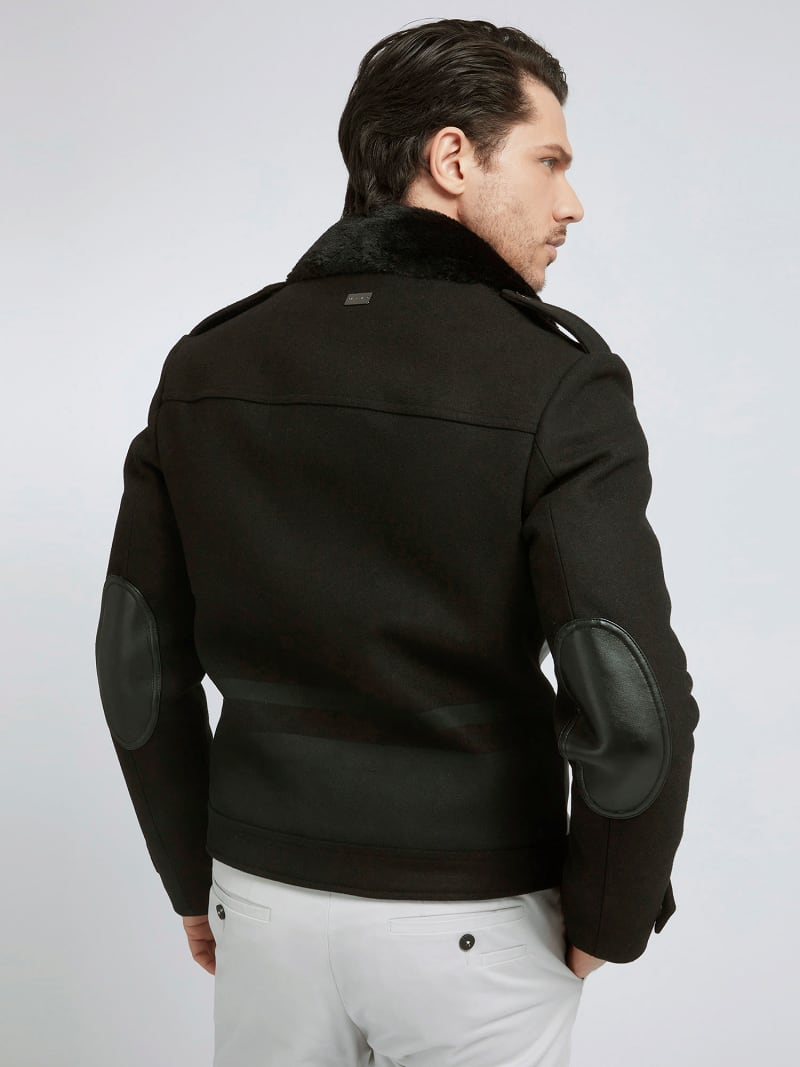 MARCIANO COATED-LOOK JACKET image number 2