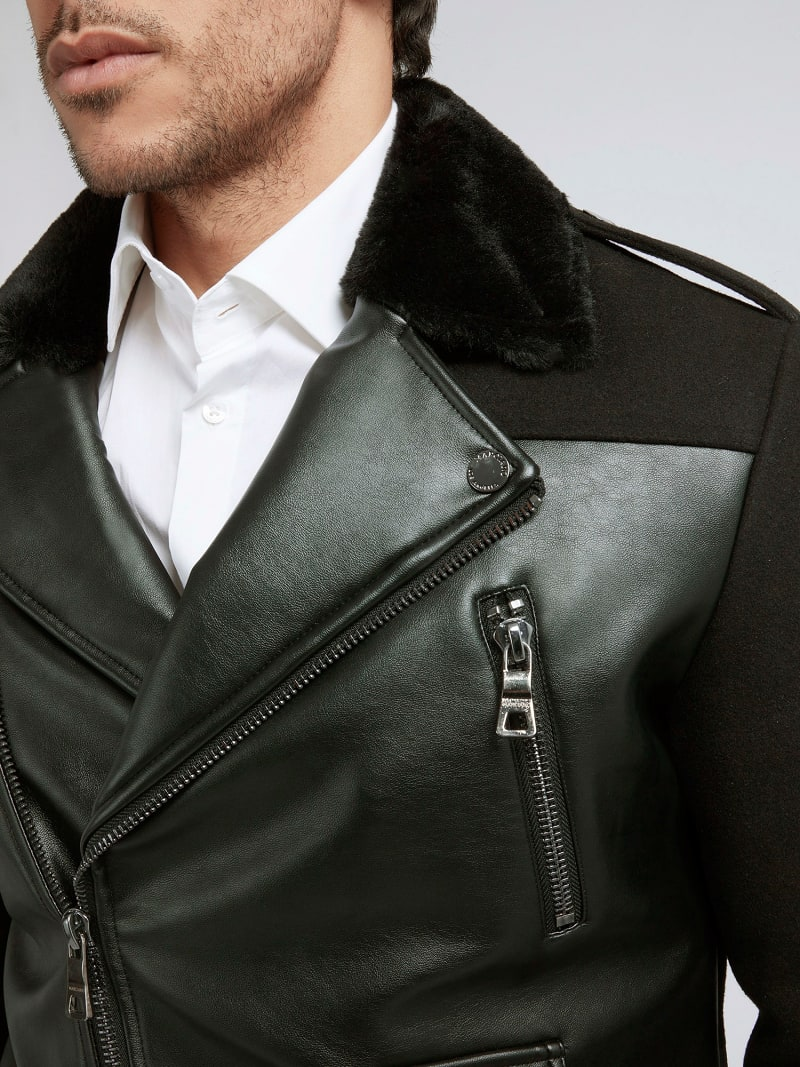 MARCIANO COATED-LOOK JACKET image number 3