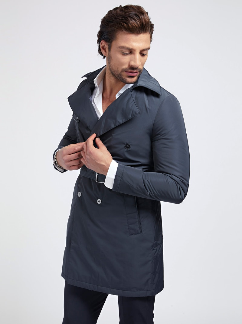 MARCIANO TRENCH WITH BELT image number 0