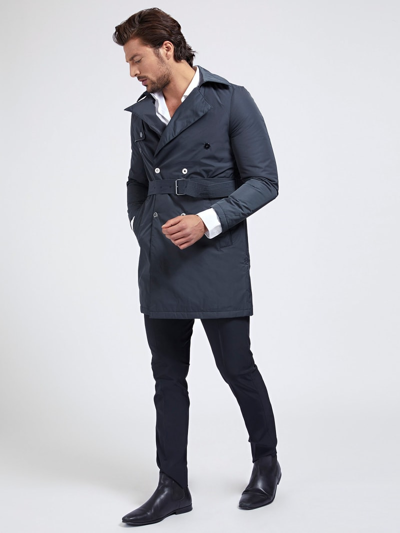 MARCIANO TRENCH WITH BELT image number 1