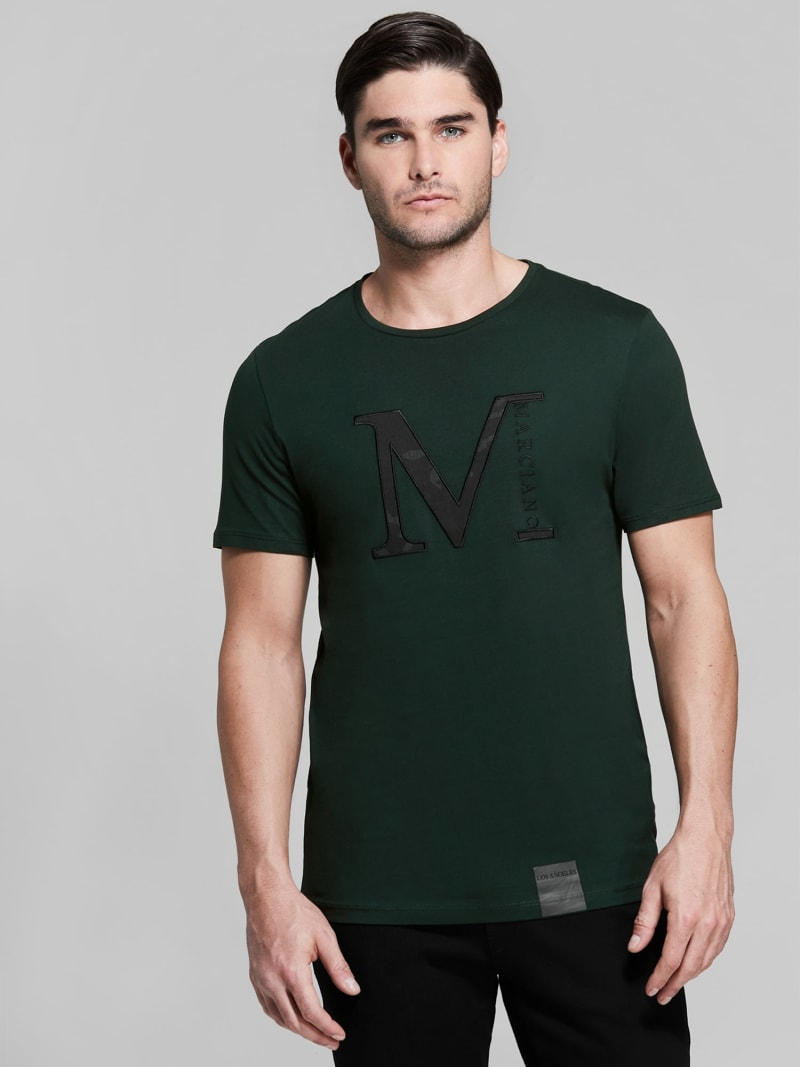 T-SHIRT MARCIANO LOGO image number 0