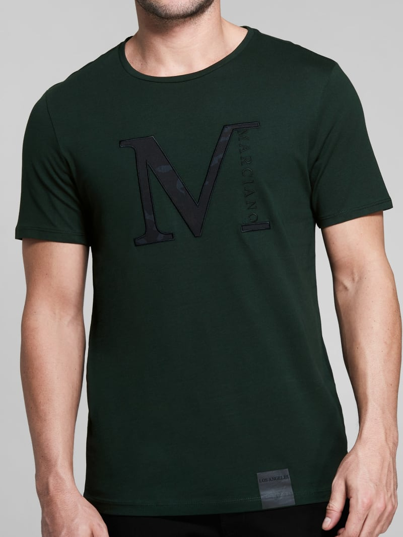T-SHIRT MARCIANO LOGO image number 2