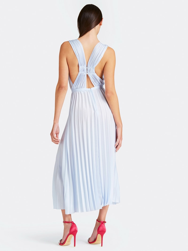 MARCIANO PLEATED DRESS image number 1