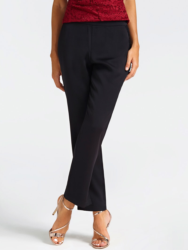 MARCIANO LACE DETAIL TROUSER image number 0