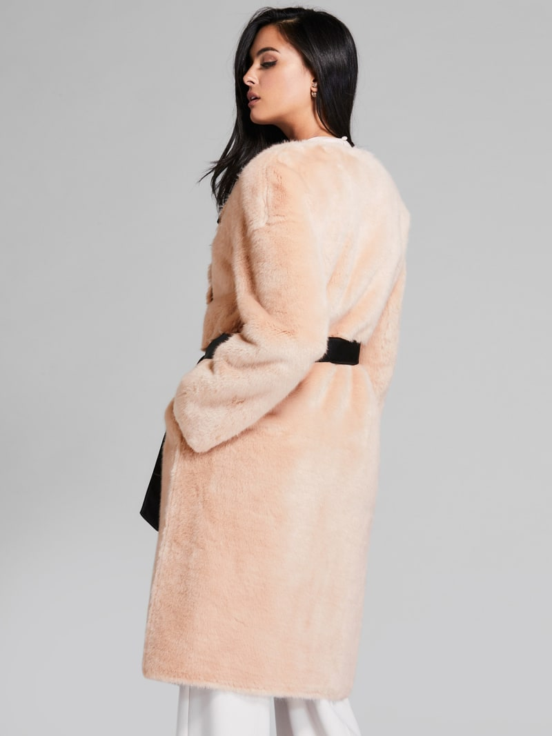 MARCIANO COATED-LOOK COAT image number 4