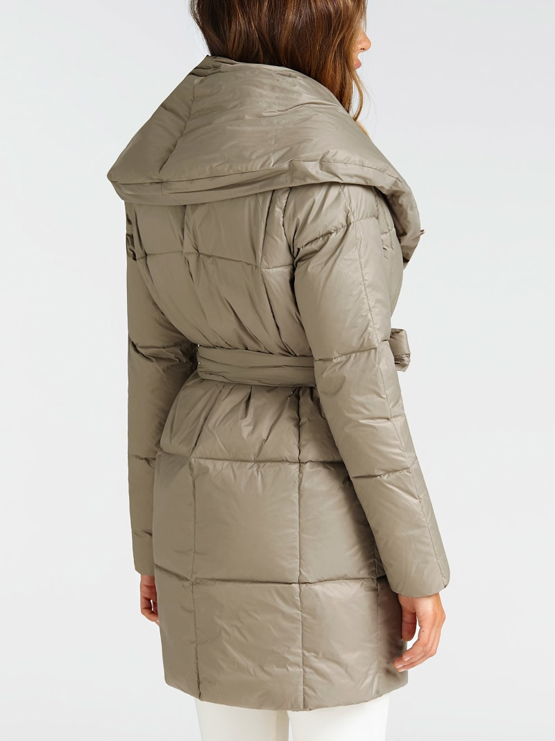 MARCIANO BELTED PUFFER COAT image number 2