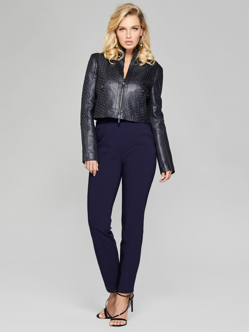 MARCIANO LEATHER STUD JACKET image number 2