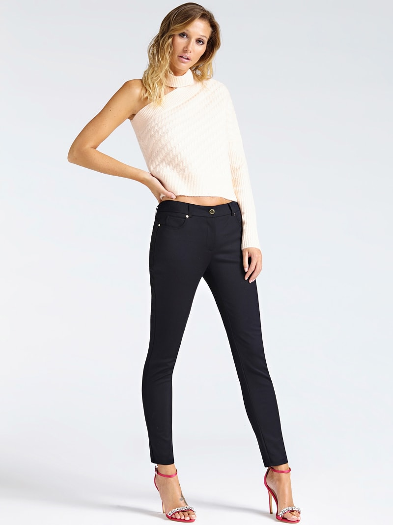 MARCIANO SINGLE-SHOULDER SWEATER image number 1