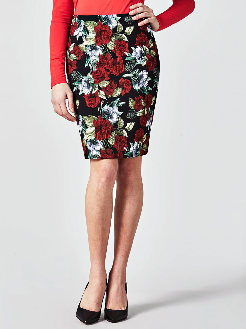 MARCIANO ROSE SKIRT image number 0