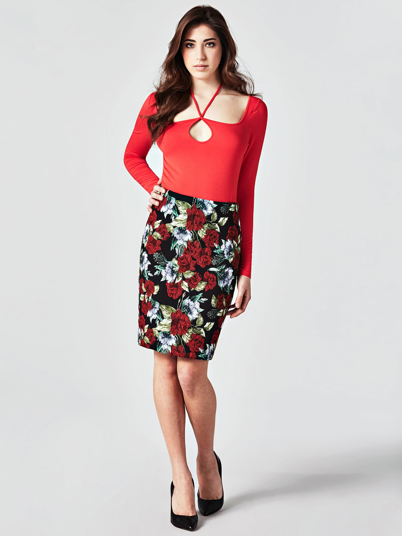 MARCIANO ROSE SKIRT image number 1