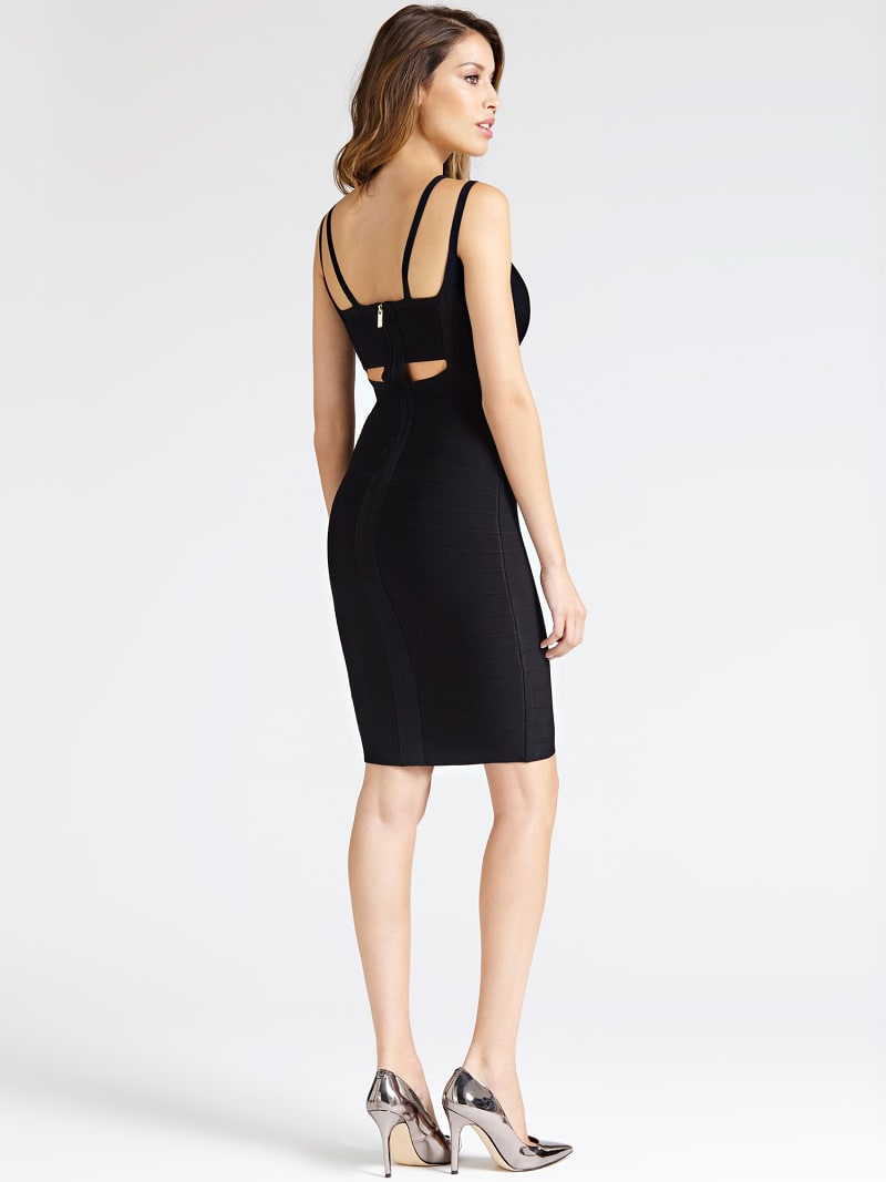 MARCIANO STRAPPY BANDAGE DRESS image number 1