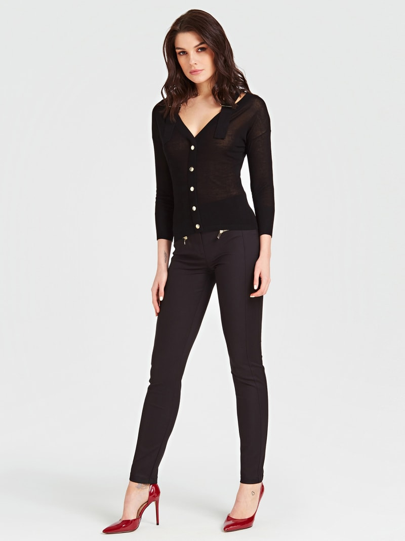 MARCIANO PANTS WITH POCKET DETAIL image number 1