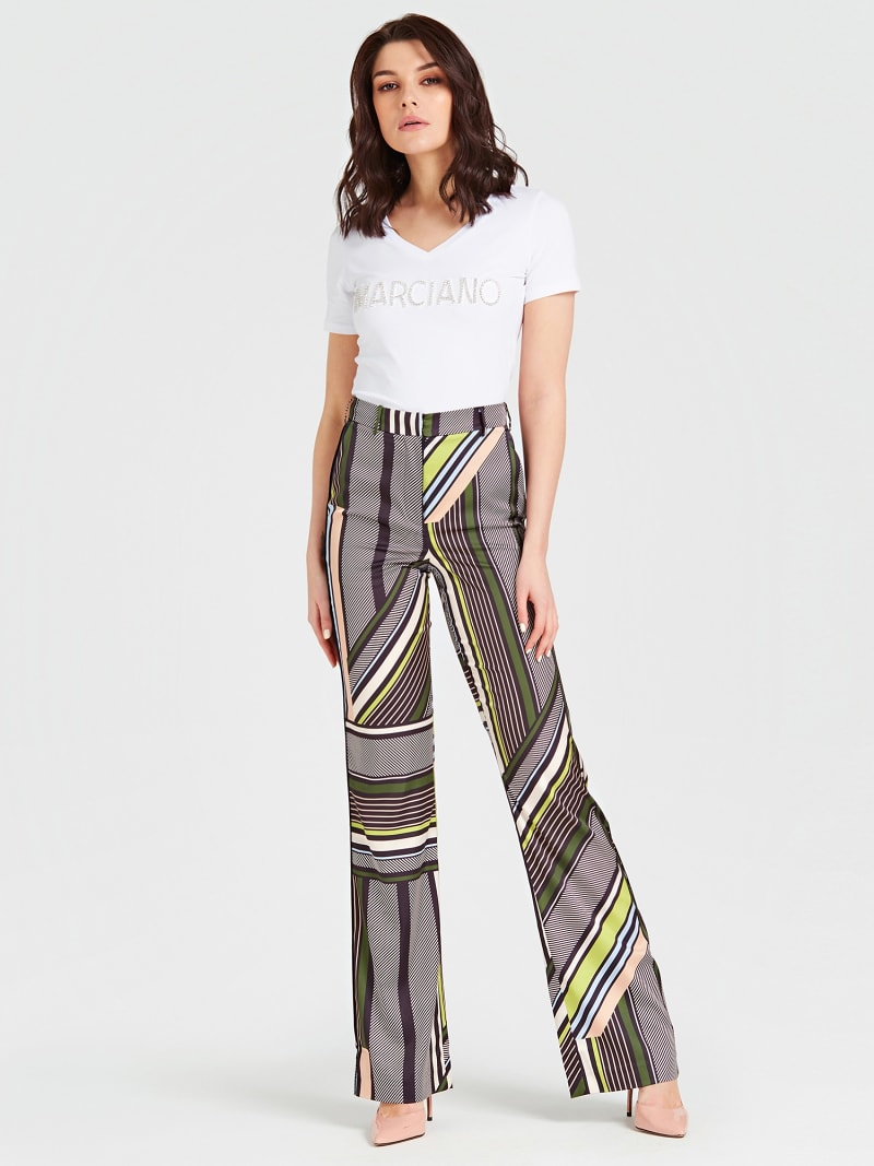 MARCIANO PATTERNED PANTS image number 1