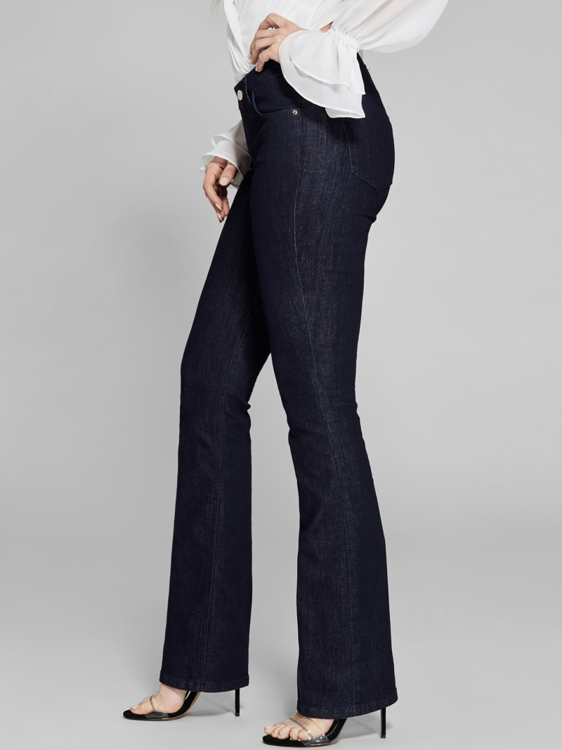 MARCIANO FLARED DENIM PANTS image number 3