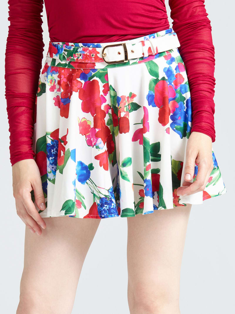 MARCIANO FLORAL SKIRT image number 0