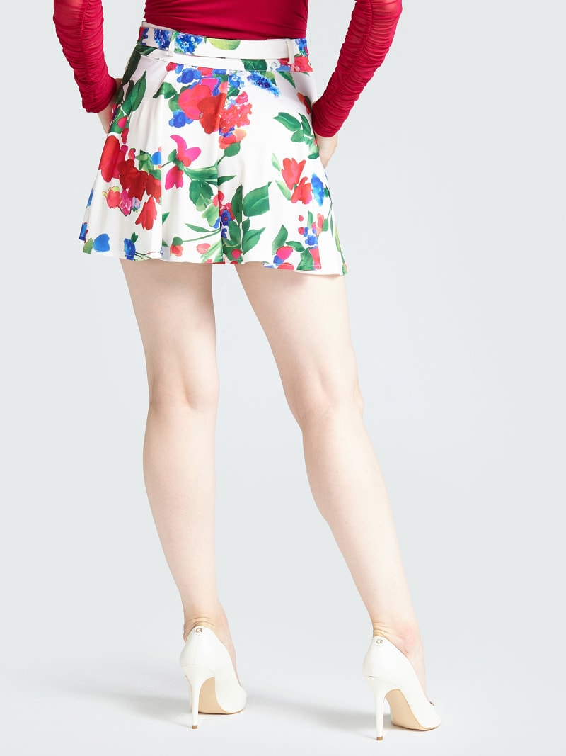 MARCIANO FLORAL SKIRT image number 2