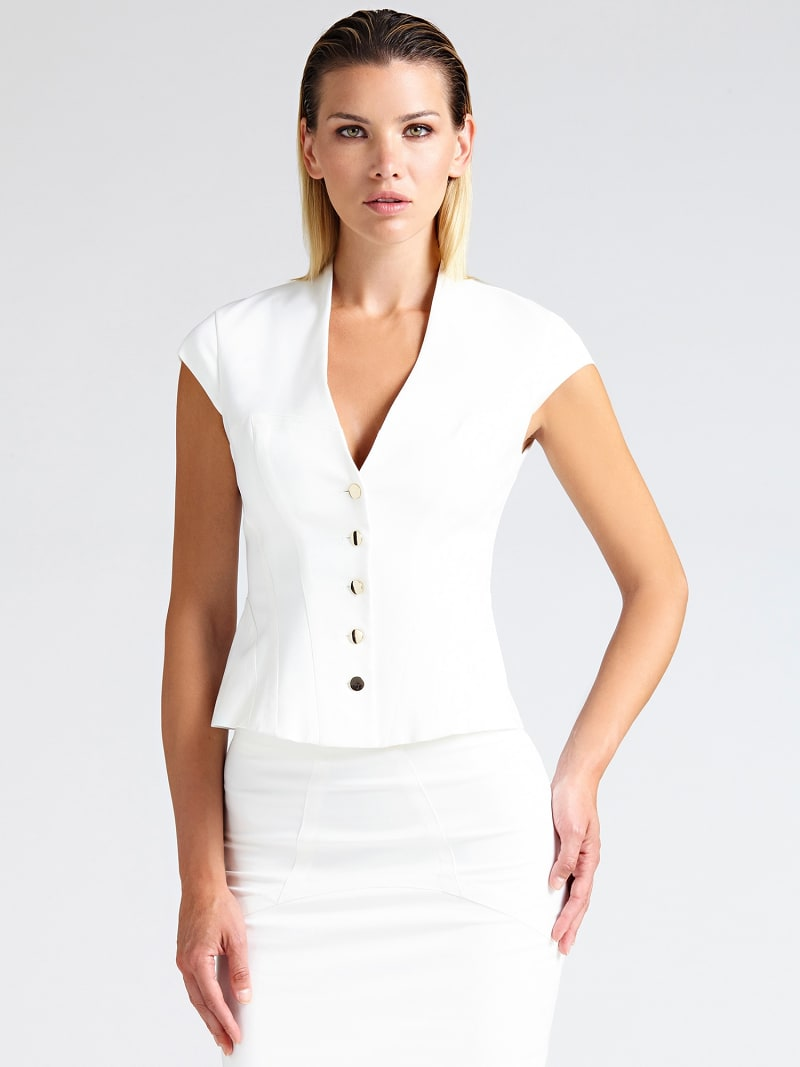 MARCIANO BLAZER WITH BUTTONS image number 0