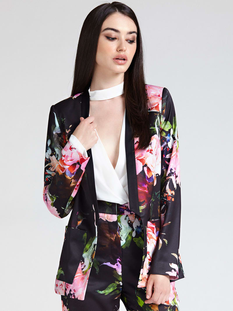 MARCIANO FLORAL JACKET image number 0
