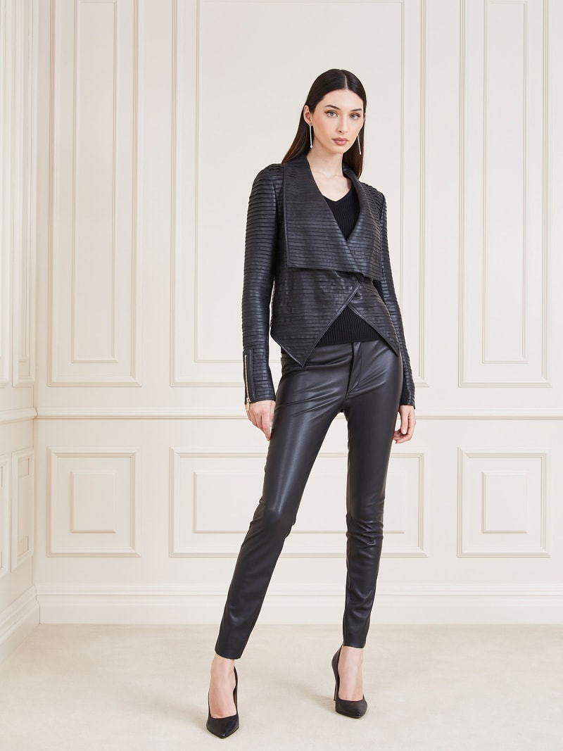 MARCIANO LEATHER JACKET image number 1
