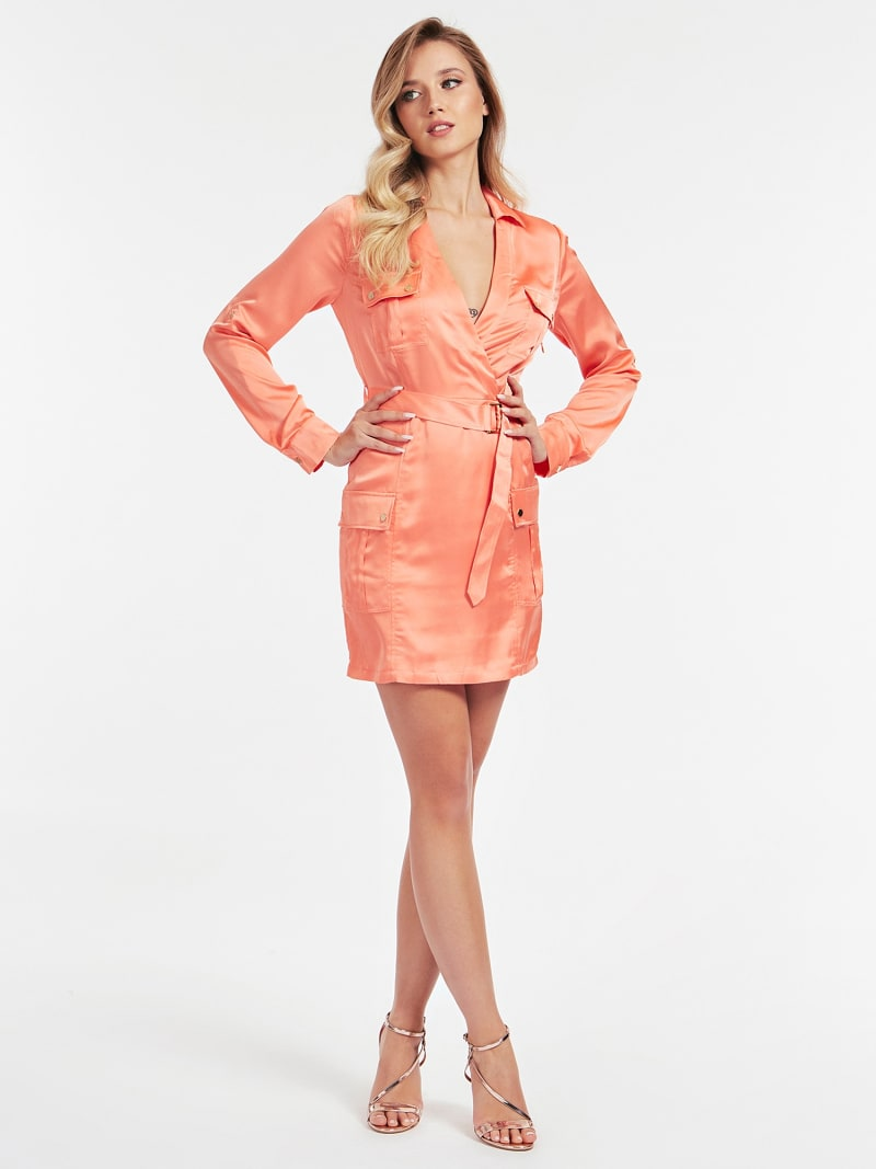 MARCIANO BELTED DRESS image number 0