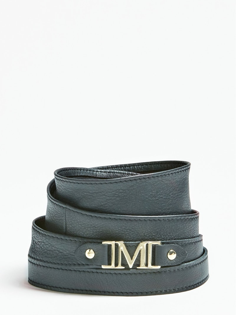 MARCIANO GENUINE LEATHER BELT image number 0